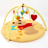 Cheapest Gargon D Baby Play Mat Activity Gym Travel Soft Mat Hand Eye Braindevelopment Brown Bear Design