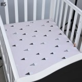 Sale Getek Boys Girls Brand New Baby Crib Cot Bed Fitted Sheet 100 Cotton Intl Getek