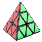 Sale Gift Moyu Pyraminx Triangular Pyramid Shaped Speed Magic Puzzled Cube Black White Black Intl Goft Cheap