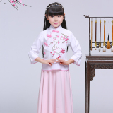 Buy Chinese Style Princess New Style Children Dress Modified Cheongsam Oem Online