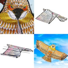 Golden eagle kite with handle line kite games bird kite weifang chinese kite - intl