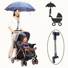 Golf Umbrella Holder Baby Trolley Umbrella Stand For Wheelchair Bike Buggy Cart Baby Pram - Intl By Danlong Store.