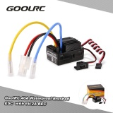 Goolrc 40A Waterproof Brushed Esc Electric Speed Controller With 6V 2A Bec For 1 10 Rc Rock Crawler Car Rc Boat Intl Compare Prices