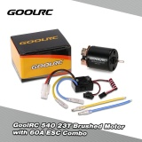 Buy Goolrc 540 23T Brushed Motor With 60A Esc Combo For 1 10 On Road Drift Touring Rc Car Intl Cheap China