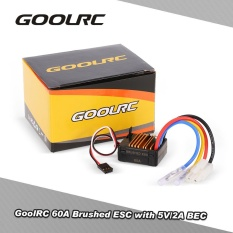 Price Compare Goolrc 60A Brushed Esc Electric Speed Controller With 5V 2A Bec For 1 10 Axial Scx10 Rc4Wd D90 Rc Crawler Climbing Car Intl