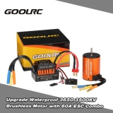 Goolrc Upgrade Waterproof 3650 3500Kv Brushless Motor With 60A Esc Combo Set For 1 10 Rc Car Truck Intl Singapore