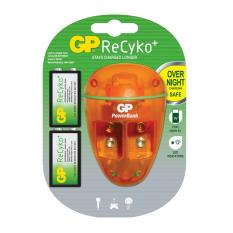 Buy Gp Powerbank Pb09 With Rechargeable Battery Recyko 9V 150Mahx 2 Gp Original