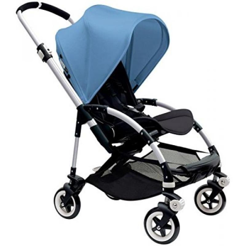 GPL/ Bugaboo Bee3 Sun Canopy, Ice Blue (Stroller not included)/ship from USA - intl Singapore