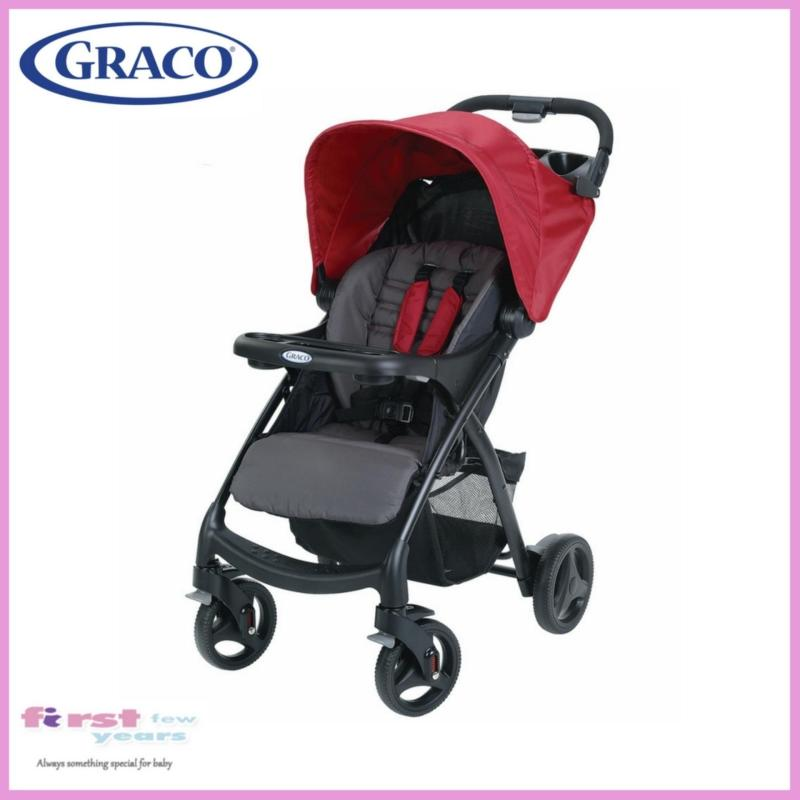 Graco Verb Click Connect Stroller (Chilli Red) Singapore