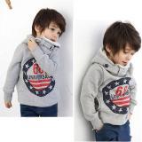 Gray Baby Boys Grils Kids Coat Tops Hoodies Jacket Sweater Outwear On Line