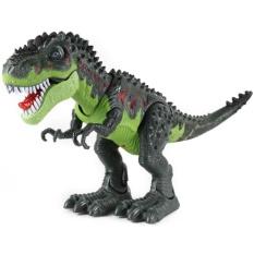Green Giant Electric Tyrannosaurus Luminous Walking Dinosaur Toy Children S Educational Intl Reviews