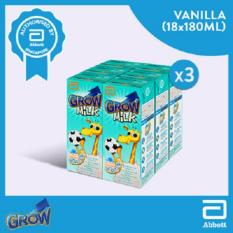 Grow Ready To Drink Vanilla 3X6X180Ml Discount Code