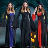 List Price Halloween Vampire Demon Cospaly Costume Dead Ghost Clothes Female Witch Masquerade Party Service Performance Clothing Intl Oem