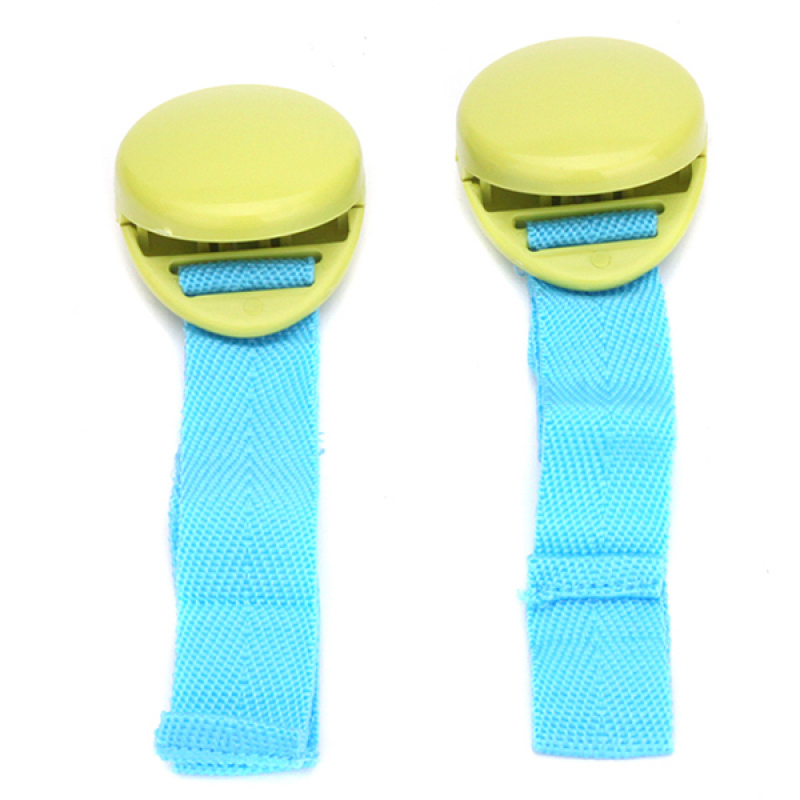 Hang-Qiao 2 Pcs Baby Stroller Clip Cart Clamp Green (EXPORT) Singapore