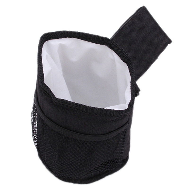 Hang-Qiao Baby Stroller Insulate Bags Cup Holders Black (EXPORT) Singapore