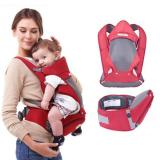 Where To Shop For Haotom Breathable Multifunctional Front Facing Baby Carrier Infant Comfortable Sling Backpack Pouch Wrap Baby Kangaroo Red