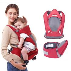 Haotom Breathable Multifunctional Front Facing Baby Carrier Infant Comfortable Sling Backpack Pouch Wrap Baby Kangaroo Red Best Buy