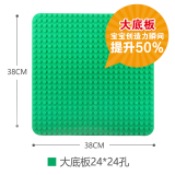 Buy Joy Grass Green Large Particles Hole Building Blocks Bottom Board Cheap China