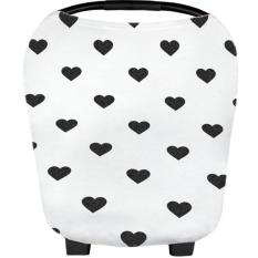 Cheaper Hearts 360 Full Multi Purpose Nursing Cover Car Seat Cover Breastfeeding Wear Nursing Poncho Cover Shawl