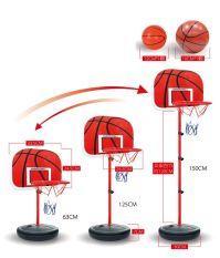 Price Height Adjustable Kids Mimi Basketball Hoop Rim Net Set Backboard Basket Ball Export On China