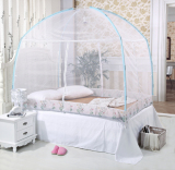 Promo Korean Style High Three Entrance Mongolian Yurt Mosquito Net With Bottom