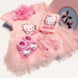 Sale Hello Kitty Cotton Summer Newborns Ha Dress Baby Gift Box Other Original