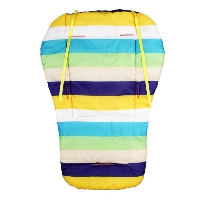HKS Waterproof Soft Baby Stroller Cushion Pram Padding Rainbow Liner / Car Seat Pad Thickness C Singapore