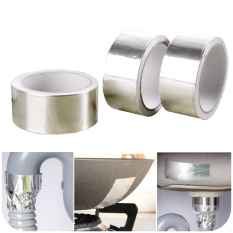 Ju La Casa Thick Insulated Waterproof Aluminum Film Adhesive Tape High-Temperature Resistant Self-Adhesive Tin Foil Aluminum Foil Bandage Shielded Aluminized Paper By Taobao Collection.