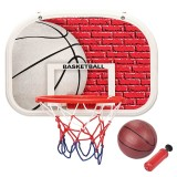 Store Home Mini Basketball Backboard Hoop Net Children Kids Indoor Game Toys Set Intl Oem On China