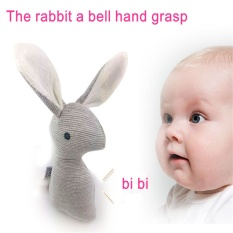 Hot Rabbit Baby Toys Plush 0-12 Months Bb Bunny Rattle Mobiles Infant Ring Bell Crib Sound Cute Animal Bebe Toy Kids Doll By La Chilly.