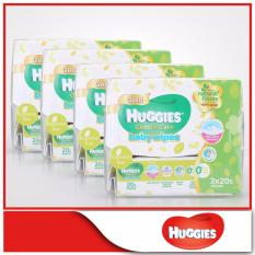 Brand New Huggies Baby Wipes Gentle Care 20S X 3 X 4 Packs