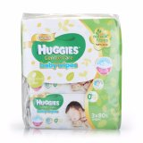 Retail Price Huggies Baby Wipes Gentle Care 80S X 3 X 4 Packs