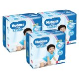 Compare Price Huggies Dry Diapers Super Jumbo Size L 68 Pcs X 3 Pkt Total 204 Pcs On Singapore