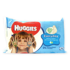 Pack Of 12 Huggies Everyday Cleanse And Refresh Baby Wipes 56 Wipes 0237 Discount Code