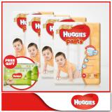 Discounted Huggies Gold Pullup Pants M 56Pcs X 4 Packs