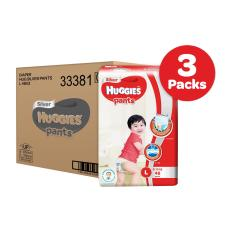 Promo Huggies Silver Pants L 48Pcs X 3 Packs
