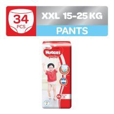 Buy Huggies Silver Pants Xxl 34Pcs Huggies Online