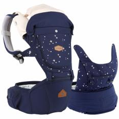 Promo I Angel Miracle All In One Hipseat Carrier Star Navy Intl