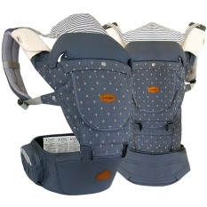 I Angel Miracle All In One Hipseat Carrier Stone Blue Intl South Korea