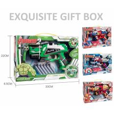 Incredible Hulk Avengers Series Soft Bullet Foam Toy Gun For Kids And Children By Genconnect.