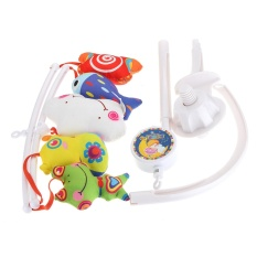 Infant Babies Bed Crib Music Bells Hanging Rotate Bell Toy Creatives Baby - Intl By Five Star Store.