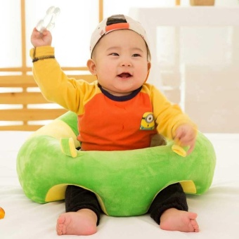 Infant Baby Support Seat Soft Cotton Travel Car Pillow Cushion Plush Toys