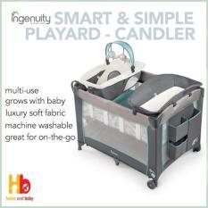 Lowest Price Ingenuity Smart Simple Playard Candler
