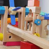 Shop For Intelligence Wooden Track Roller Coaster Ball Building Blocks