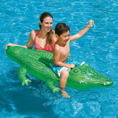 Sale Intex Water Inflatable Swim Ring Mounts Floating Bed Seat