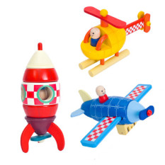 Who Sells Janod Wooden Children S Magnetic Toys Rocket Model The Cheapest