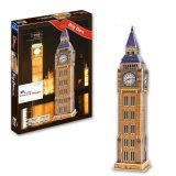 Buy Jigsaw 3D Puzzle Big Ben Model For Kids Educational Toy Export Cheap China