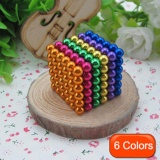 Retail Jingle 216 Pcs Magic Magnet Magnetic Diy Beads Puzz Balls 3D Magic Kids Toys Option 5Mm Intl