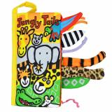 Sale Jollybaby Early Education Cloth Book For Kids Jungly Tails Singapore