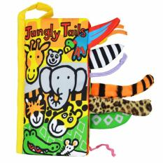 Jollybaby Early Education Cloth Book For Kids Jungly Tails Lower Price